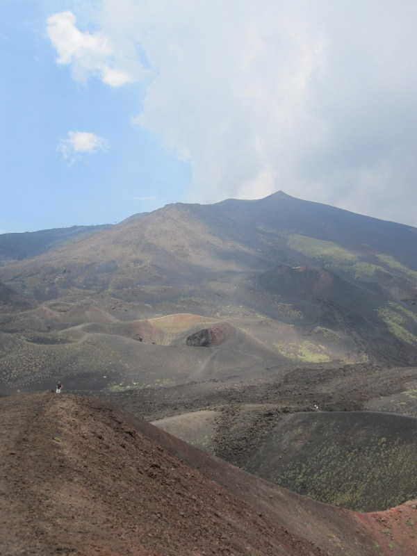 This was about as close as we got to the active parts of Etna.